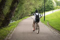 Cool Bicycle, Grünerløkka, Oslo (jens.gothilander) Tags: oslo norway sightseeing tourist visitor vacation summer 2017 swede tourism nikon d5500 bike bicycle grünerløkka street park