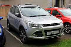 Leicestershire Fire & Rescue Service Unmarked Ford Kuga Officers Car (PFB-999) Tags: leicestershire leics fire and rescue service lfrs brigade unmarked plain ford kuga 4x4 officers car vehicle unit lightbar grilles fendoffs dashlight leds ukro challenge 2017 hull