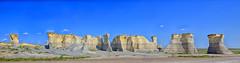 Monument Rocks (Kansas Poetry (Patrick)) Tags: monumentrocks westernkansas cretaceous kansas kansaspyramids patrickemerson patrickiandocolorado