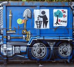 Ouste (Jean STEOU) (Thethe35400) Tags: colorama colorama2017 tag graffiti grafiti graffitis grafit grafite streetart pochoir graff street art artderue arteurbano arturbain arturbà arteurbana urbanart plantilla stencil muralisme schablone stampino mural calle bleu blu azul