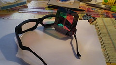 Dolby 3M filtering for 3D cinema (Dominik Lange) Tags: paris 3d stereoscopic stereophotography stereoscopy movie glasses homebrew doityourself