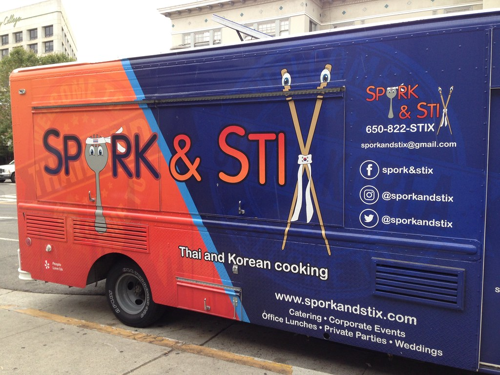 Spork And Stix Food Truck