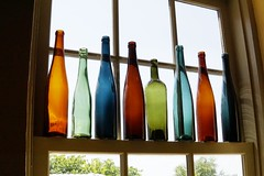 Window (timvandenhoek1) Tags: window bottles wine winery stonehillwinery hermann missouri