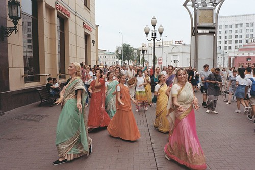 «Mahamantra of the streets of Moscow»