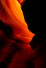 Sandstone sculpture, Arizona (Rod Heywood) Tags: lowerantelopecanyon arizona sandstone navajo americansouthwest iconic rocksculpture slotcanyons canyon rockcanyon pagearizona spiralrockarches thecorkscrew navajonation red orange antelopecanyon navajosandstone desert rock abstract sculpted surreal contrast fire yinandyang duality lightanddarkness composition