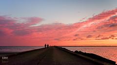 Pier van IJmuiden (Boudewijn Vermeulen ) Tags: ijmuiden sunset beach fotoreis phototravel postprocessing seascape seaside seaview strand zee zonsondergang
