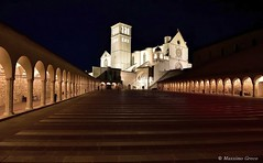 Basilica di San Francesco - Assisi (Massimo Greco *) Tags: ruby5