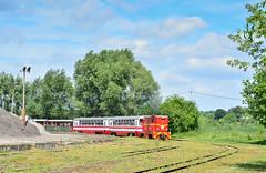 Lxd2-283 (Radosław Matysek) Tags: lxd2 lxd2283 narrow gauge diesel nadwiślańska kolej wąskotorowa opole lubelskie poland