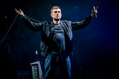 Damon Albarn, Gorillaz (Joshua Mellin) Tags: outside lands san francisco music festival chocolands outsidelands musicfestival outsidelandsmusicfestival sanfrancisco sf california sanfranciscocalifornia bayarea thebayarea summer 2017 bands concerts band live tour fest rock stage lights lighting effects design art creative bright best pictures pics photo photos picture pic joshuamellin photographer photography cali westcoast musicfest musicfests fests festivals concert fog humanz gorillaz damonalbarn jamiehewlett plasticbeach singer blur melodica