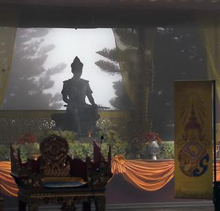Mist around Buddah