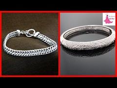 New Beautiful Silver (chandi) Bracelets Designs (The Beauty Writer) Tags: new beautiful silver chandi bracelets designs
