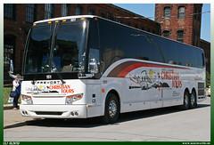 "Prevost H3-45 ""Christian Tours"" (uslovig) Tags: bus coach busse buses prevost h3 45 burke international tours nancy and udean christian newton nc nashville tennessee tn usa 151"
