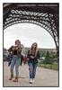 Britney and Shanna, Under the Eiffel Tower (Doyle Wesley Walls) Tags: sb bb 0199 shanna britney eiffeltower doylewesleywalls