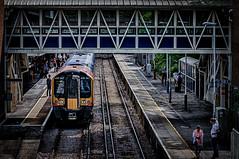 Train (Kevin R Thornton) Tags: bracknell d90 city urban 2016 nikon photowalk transport england unitedkingdom gb