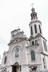 Church (Jacqueline M Williams) Tags: church catholic canada montreal quebec new brunswick summer 2017 vacation sky white god jesus love religion architecture cross catholicism nikon d3300 dslr building old