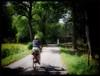 Summer ride... (iEagle2) Tags: woman summer female femme frau bicycle olympusep2 olympuspen ep2