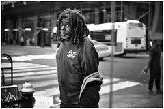 Cave Crew (Steve Lundqvist) Tags: new york usa states united america manhattan stati uniti travel trip viaggio bw urban city urbanscape ny nyc monochrome nikon loner black white background broadway downtown depth street photography streets poverty pike place people portrait homeless monocromo persone ritratto rasta expression cave crew streetphotography candid ghetto art bruce gilden vivian maier world outside
