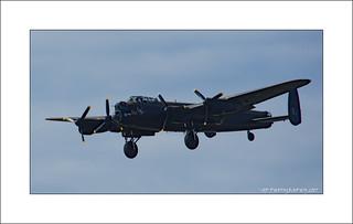 The BBMF Lancaster