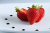 Maletto' strawberries (ciccioetneo) Tags: nikond7000 nikon105mmf28 fragola strawberry fragoladimaletto maletto catania fragole sicilia sicily sagradellafragola closeup ciccioetneo sb800 nikonsb800 strobist food strawberryexpo