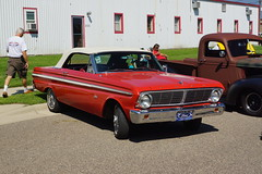 1965 Ford Falcon Futura Convertible (Crown Star Images) Tags: auto cars car minnesota automobile automotive mn automobiles carshow maplelake gearheadgettogether gearheadgettogethercarshowswapmeet crownstarimages convertible ragtop droptop