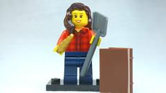 Brick Yourself Custom Lego Figure Unicorn Archaeologist
