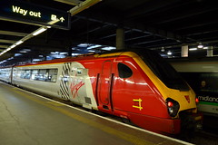 Sticking Plaster (dhcomet) Tags: liverpool merseyside virgintrains voyager 221142 repair yellow tape hatch euston station