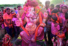 Bikaner Rajasthan bids farewell to Lord Ganesh amidst a riot of colours (Desert_photographer) Tags: ganesh visarjan ganpati bids farewell lord amidst riot colours