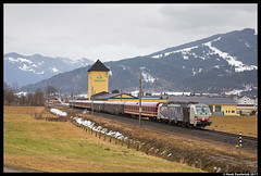 Lokomotion 193 772, Altenmarkt im Pongau 18-03-2017 (Henk Zwoferink) Tags: gemeindealtenmarktimpongau salzburg oostenrijk at lomo lokomotion henk zwoferink rtc rail traction company vectron siemens x4e 193 772 altenmarkt im pongau alpen express euro eetc railexperts re euroexpress