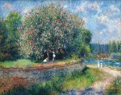 Châtaignier en fleur d'Auguste Renoir (Alte Nationalgalerie, Berlin)