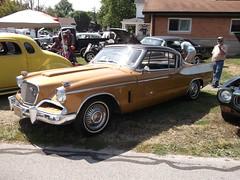 1957 Stedebaker Golden Hawk (cjp02) Tags: old fashion days festival north salem hendricks county indiana labor day weekend annual