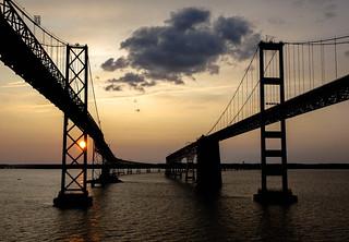chesapeake bay bridge md.