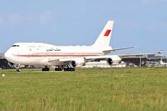 Boeing B747-476 - A9C-HAK - HAJ - 04.09.2017 (Matthias Schichta) Tags: hannover langenhagen haj eddv plane flugzeugbilder flughafen flugzeug airport aviation boeing 747400 a9chak bahrain