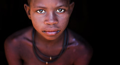 Namibia (mokyphotography) Tags: africa namibia himba girl ragazza ritratto portrait people person persone canon tribe travel village villaggio epupafalls eyes occhi viso face