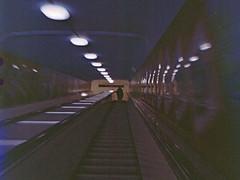 riding the escalator (Mister.Marken) Tags: skansen madeinsweden mamiya6451000s kodakfilm 400vc kodakportravividcolor escalator 220film expiredfilm tetenalcolortecc41