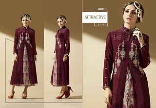 2573 Starlight Eternal k 424 Series Kurtis Collection