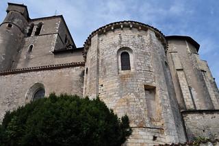 Eglise St Cirq et Ste Julitte (XIIe-XVIe), Saint Cirq Lapopie, Quercy, Lot, Occitanie, France.