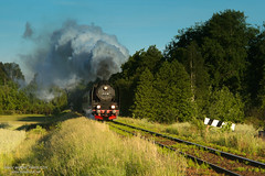 Early morning train heading to Rakoniewice by ahimsia - Pt47-65 with an early morning train from Wolsztyn to Poznań