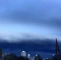 Gloomy Weather (laurenrhiannonx) Tags: scotland people portrait aberdeen weather storm