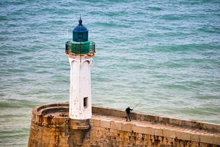 Lighthouse in France, Saint Valery en Caux