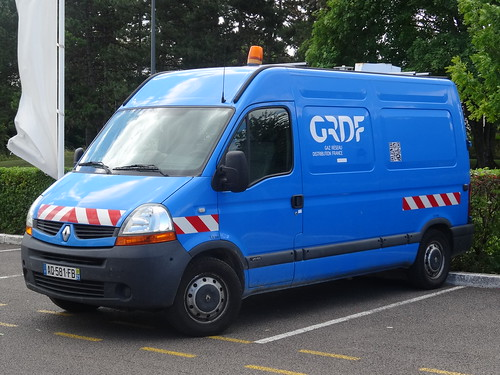 "2010 Renault Master ""GRDF"""