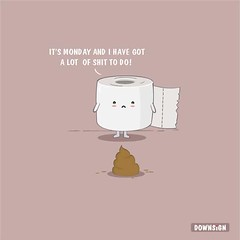 Tissue Issue (DOWNSIGN) Tags: pun punny poop shit doodle art toilet tissue issue hahaha funny humor design
