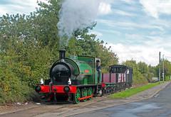 Brookes No.1 at Balm Road (TomNoble7) Tags: hunslet brookesno1 middletonrailway steam balmroad moorroad
