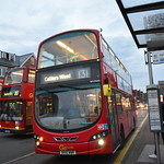 *BLIND CHANGE* Go-Ahead London: WVN45   BV10WWR    131 to Colliers Wood thumbnail