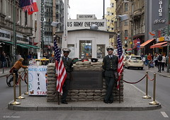 Checkpoint Charlie, Berlin, Germany (Ineke Klaassen) Tags: berlin berlijn germany checkpointcharlie deutschland ostberlin westberlin actors usarmy historic historical history sony sonyimages sonyilce6000 sonya6000 sonyalpha sonyalpha6000 stphotographia duitsland ger 200views 15faves 1025fav militarypolice mp 20faves 500views 2550fav 25faves 25favs 600views sonyflickraward checkpoint city capital kapital capitalcity berliner stadt stadtmitte citytrip holiday