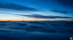 up in the clouds (yves_matiegka) Tags: daybreak sunrise switzerland naturparkthal jura mountains seaoffog fog longexposure bluehour