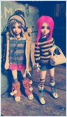 devy & roxanne (ninim.oo.n) Tags: kurhn head custom ooak obitsu 27cm bjd girl doll 16 action figure