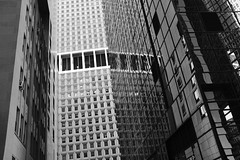Many Squares and Rectangles (Zach K) Tags: architecture design newyorkcity nyc geometrict geometic patterns facade curtainwall black white bw blackwhite blackandwhite skyscraper financial financialdistrict lowermanhattan lower manhattan fujifilm fuji x100f acros canyon