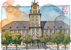 Rathaus Schöneberg (KatrinMerle) Tags: katrinmerle berlin rathaus schöneberg
