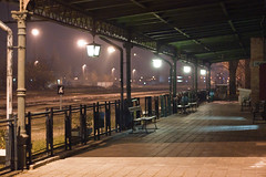 Angyalföld MÁV állomás és környéke éjszaka (hatja_bdpst) Tags: budapest angyalföld xiii kerület máv állomás és környéke éjszaka vasút vonat night train trainstation