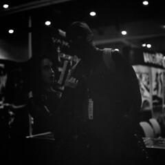 deadpool and domino (Adolfo Perez Design) Tags: trix filmisalive filmisnotdead film san diego sandiego comiccon comic con sdcc cosplay costume portraits potraiture portrait domino deadpool